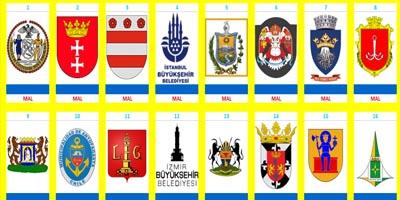 Escudos del mundo por Cortomaltés