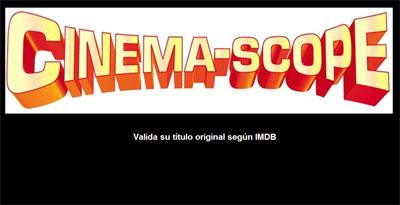 Cinesmascope por Pleno