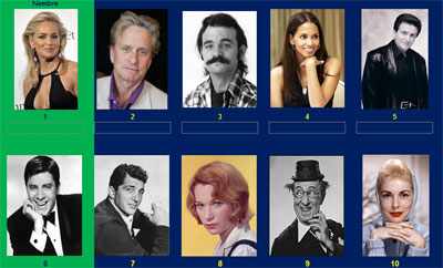 Actores y actrices 4 por Monica