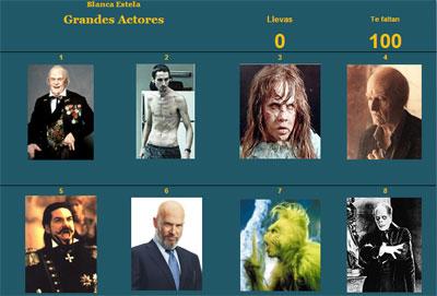 Grandes actores por Blancaestela