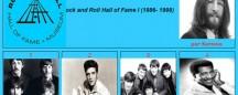 Rock and Roll Hall of Fame I (1986 - 1998) por Sartana