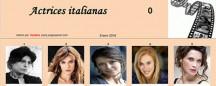 Actrices italianas por Sartana