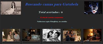 Buscando camas para Gatubela