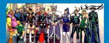Personajes Marvel por Princesa
