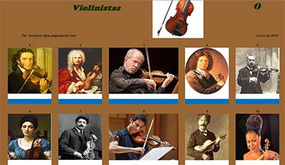 Violinistas por Sartana