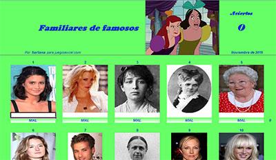 Familiares de famosos por Sartana