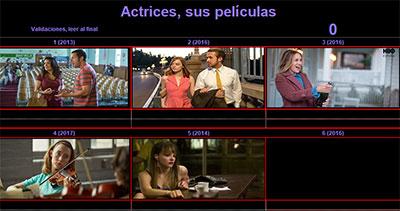 Actrices, sus películas por Mariana