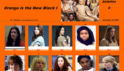 Orange is the New Black I por Sartana