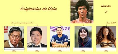 Originarios de Asia por Sartana