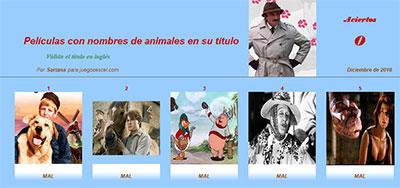 Películas con nombre de animales por Sartana