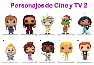 Personajes de cine y TV 2 por Princesa