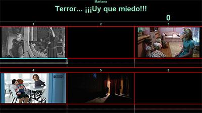 Terror...¡Uy que miedo! por Mariana