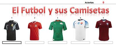 El fútbol y sus camisetas por Guillermo