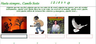 Hasta siempre .... Camilo Sesto por Oti
