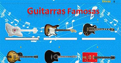 Guitarras famosas por Guillermo