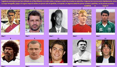Extranjeros del Real Madrid por Chemak