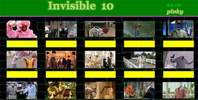 Invisibles 10 por Pinky