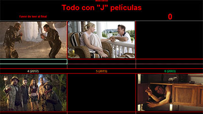 Todo con J películas por Mariana